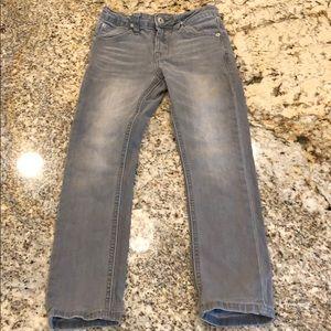 Boys Hudson Jeans Gray Size 6